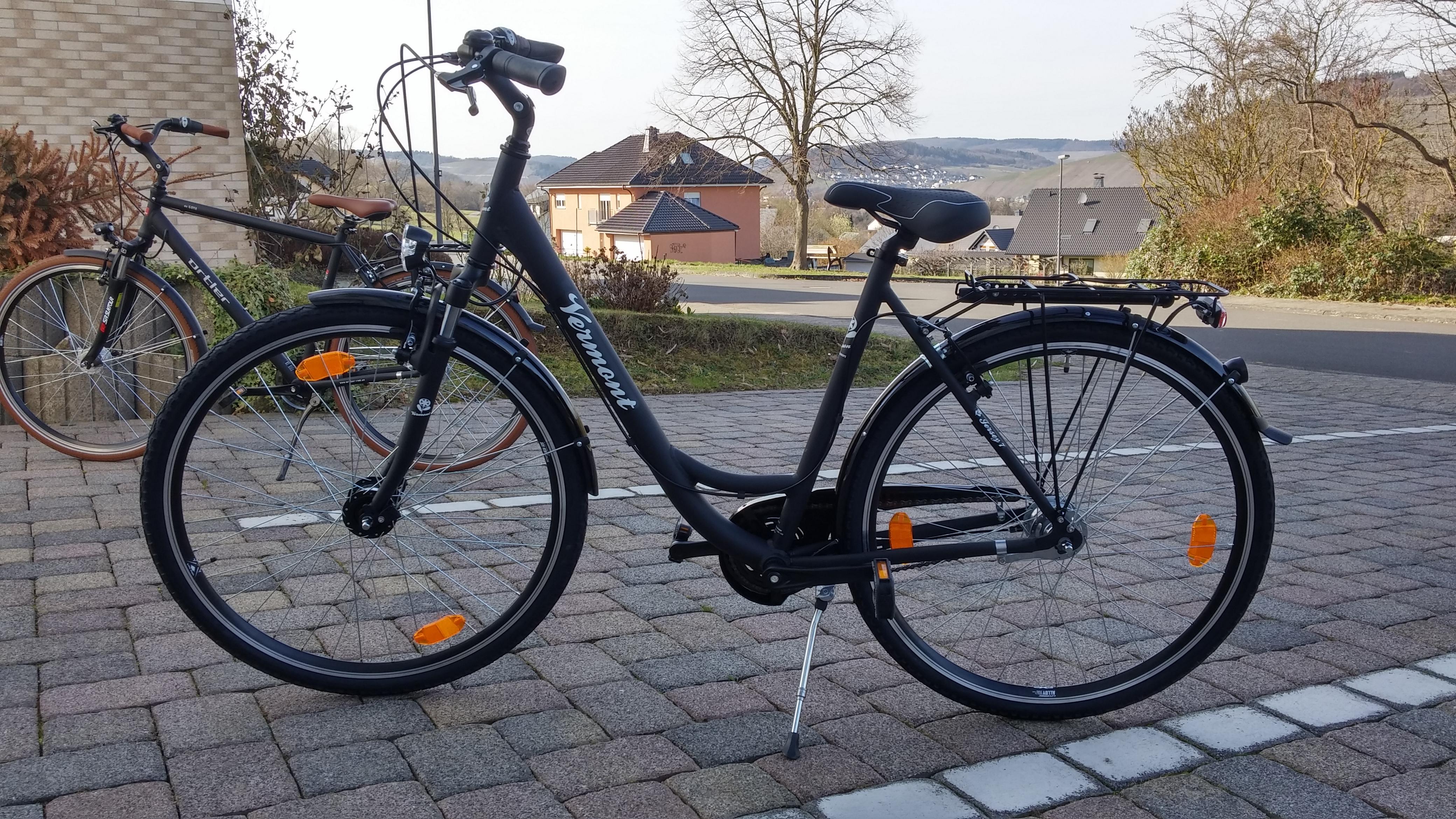 neue Fahrräder im Feriendomizil Roussel