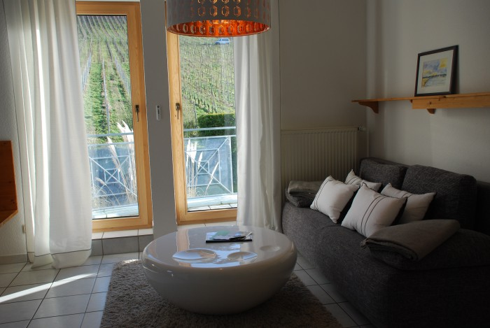 Wohnraum in Ferienwohnung Schlossberg in Andel