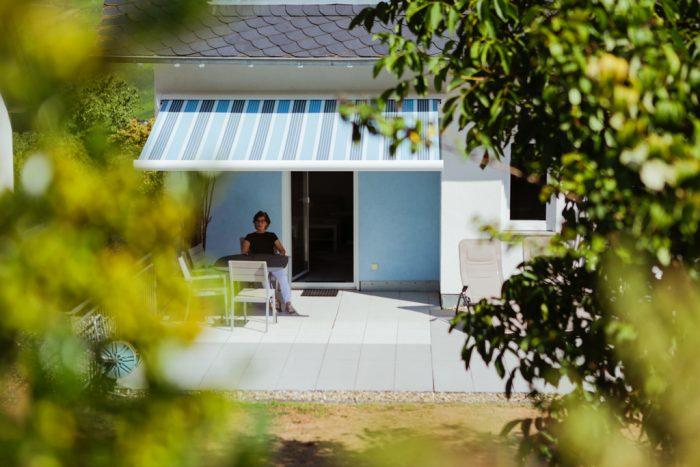 Ferienwohnung mit Sicht ins Grüne im Feriendomizil Roussel