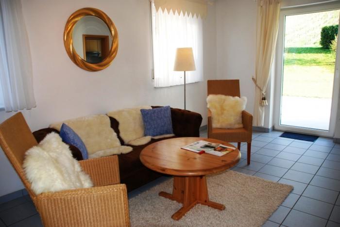 Wohnraum in ferienwohnung Andeler Eule