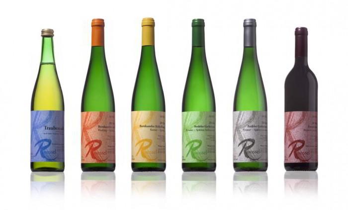 Weinflaschen Weingut Roussel Mosel