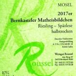 Weingut Roussel an der Mosel