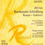 Bernkasteler Schlossberg 2014 Kerner Kabinett