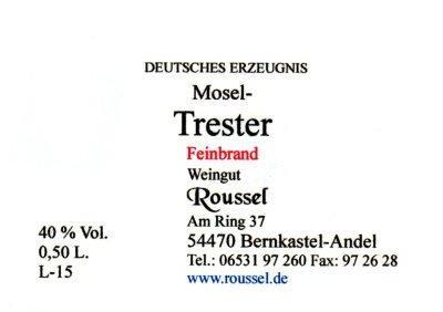 Mosel Trester Feinbrand Fl. 05 l