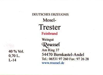 Mosel Trester Feinbrand Fl. 07 l